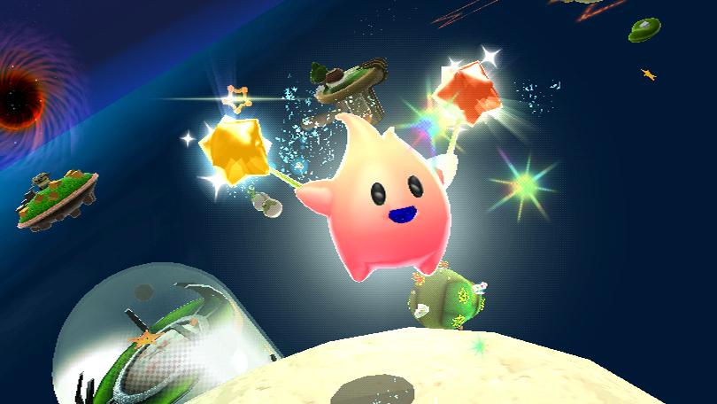 Freude: Auch dieser kleine Geselle vermittelt absolute Glückseligkeit. (Super Mario Galaxy) Wii-Version, Quelle: Gamespress / Nintendo
