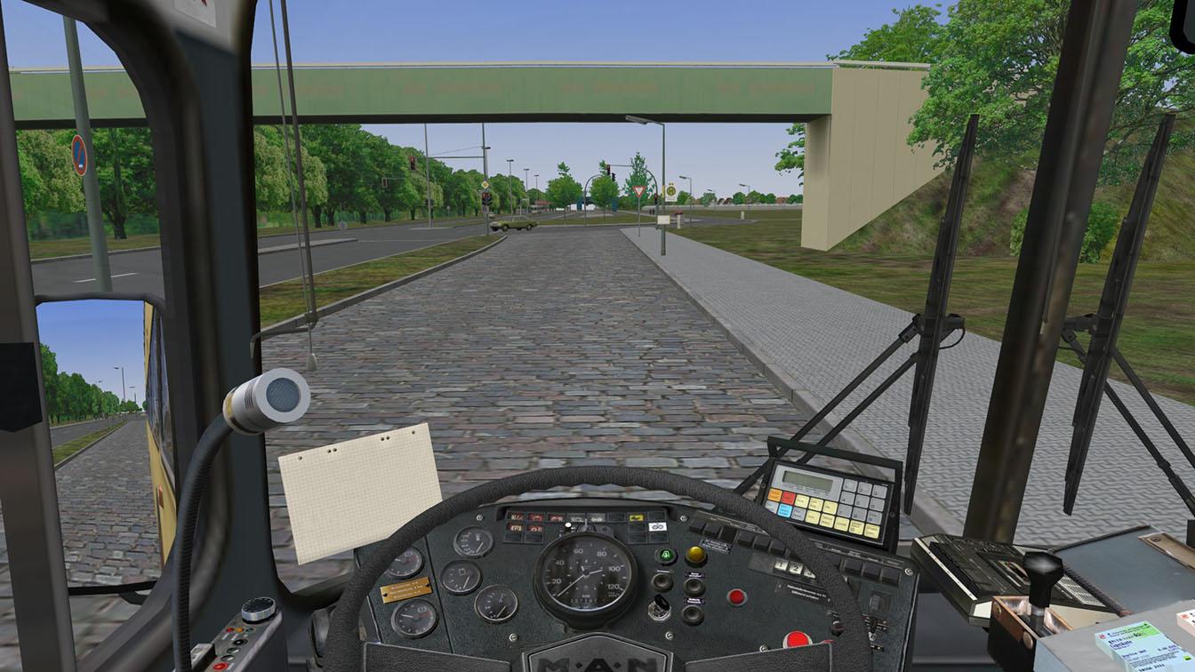 OMSI – Der Omnibussimulator (Quelle: MR-Software)