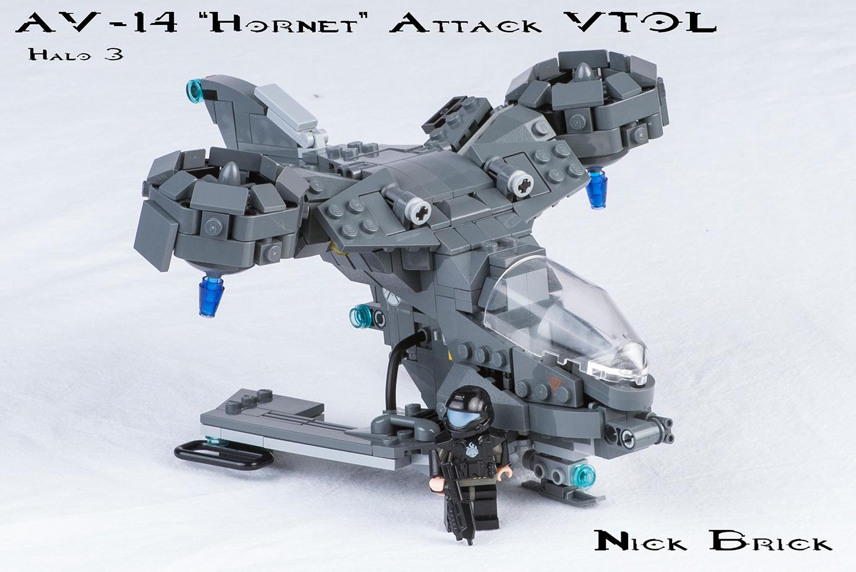 Liebevoll: Halo 3-Hornet gefällt durch witzige Details. (Quelle: Nick Jensen)