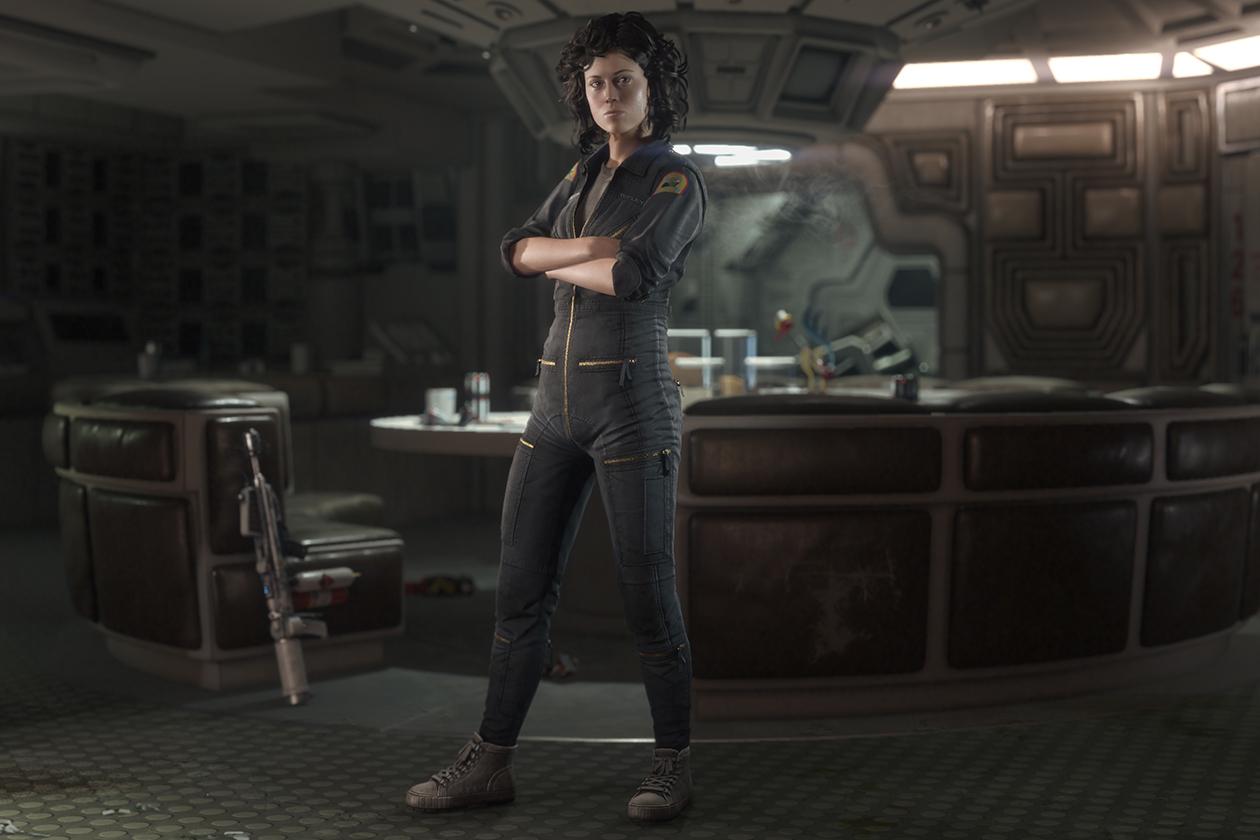 """Ellen Ripley Ellen Ripley, die von Sigourney Weaver verkörperte Hauptfigur der bislang vier """"Alien""""-Filme, ist in """"Alien: Isolation"""" ebenfalls spielbar. Vorbesteller erhalten in der """"Ripley Edition"""" in """"Crew Expendable"""" Zugriff auf den Original-Cast aus """"Alien"""", der versucht, den Xenomorph in die Falle zu locken. In """"Last Survivor"""" steuert man ausschließlich Ripley selbst. Wer hier nicht zuschlagen will, muss sich ein wenig gedulden. Beide Bonusmissionen werden in naher Zukunft auch als Kaufinhalt angeboten."""