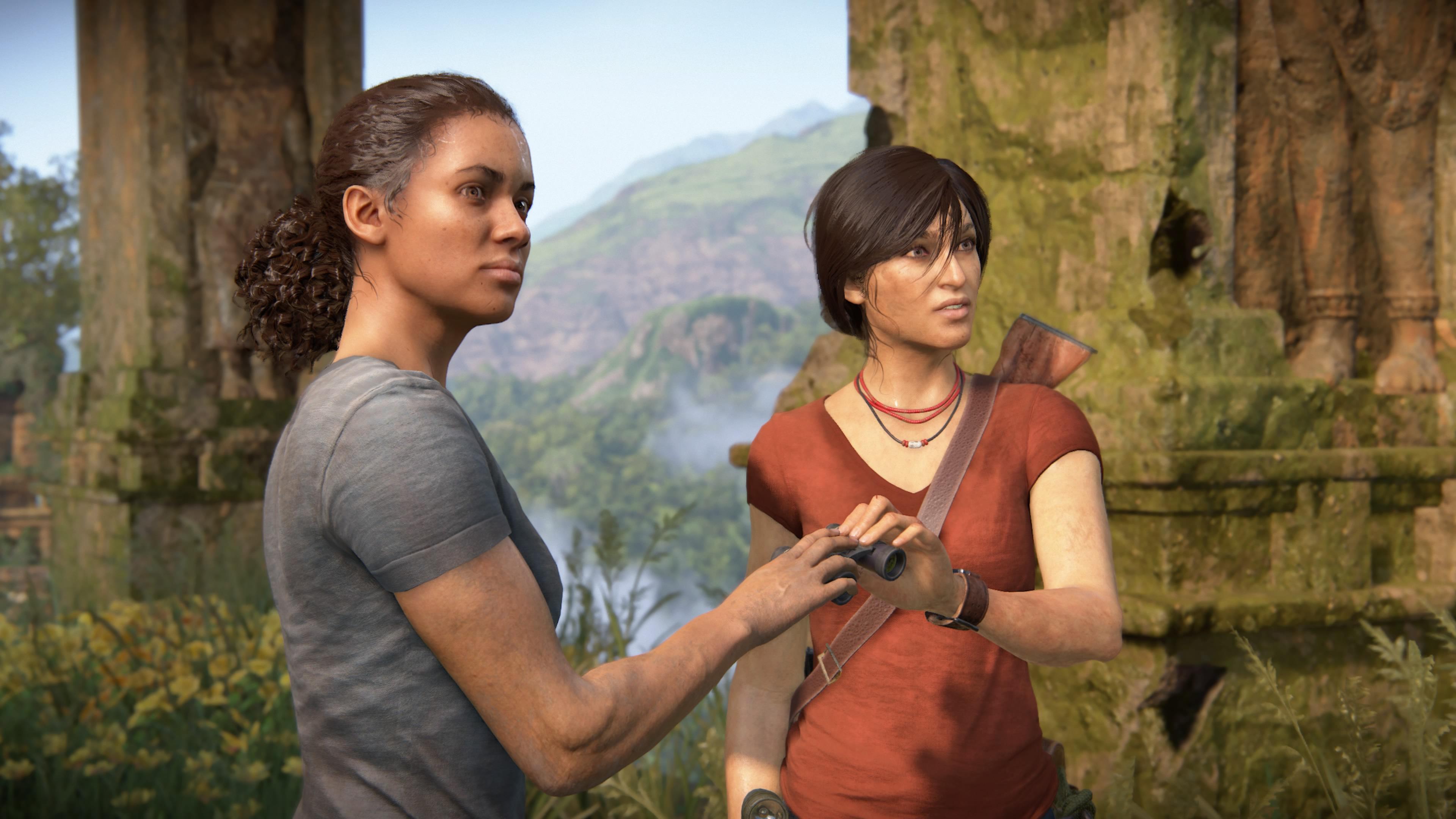 Die Heldinnen von Uncharted: The Lost Legacy arbeiten wider Willen zusammen und nähern sich erst im Spielverlauf an.